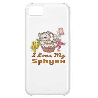 I Love My Sphynx iPhone 5C Cases