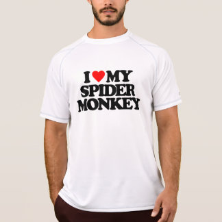 I LOVE MY SPIDER MONKEY T-Shirt