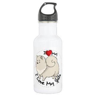 I Love My Spitz Dog 532 Ml Water Bottle
