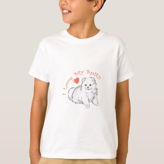 I LOVE MY SPITZ T-Shirt