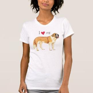 I Love my St. Bernard T-Shirt