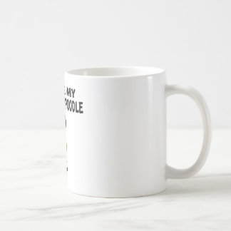 I Love My Standard Poodle Dog Designs Coffee Mug