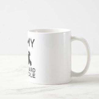 I Love My Standard Poodle Mugs