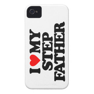 I LOVE MY STEP FATHER iPhone 4 CASE