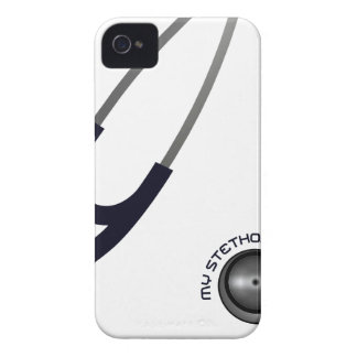 I Love My Stethoscope - Blue iPhone 4 Case-Mate Cases