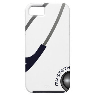 I Love My Stethoscope - Blue iPhone 5 Covers
