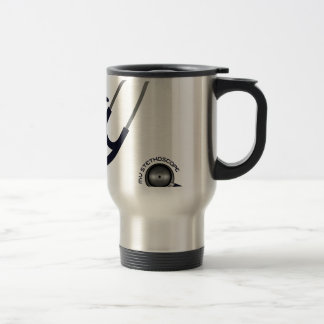I Love My Stethoscope - Blue Travel Mug