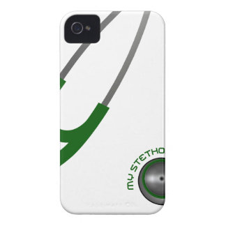 I Love My Stethoscope - Green iPhone 4 Case-Mate Cases
