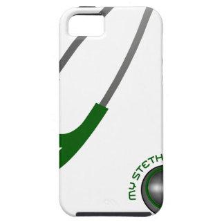 I Love My Stethoscope - Green iPhone 5 Covers