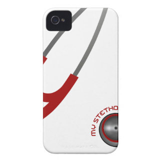 I Love My Stethoscope - Red Case-Mate iPhone 4 Case