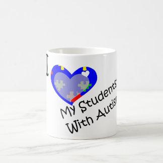 I Love My Students' With Autism mug