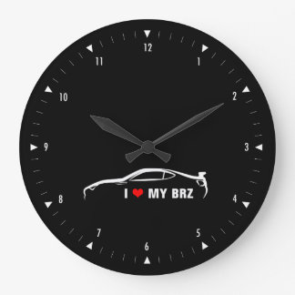 I love my Subaru BRZ Large Clock