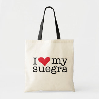 I Love My Suegra (Mother In Law) Tote Bag