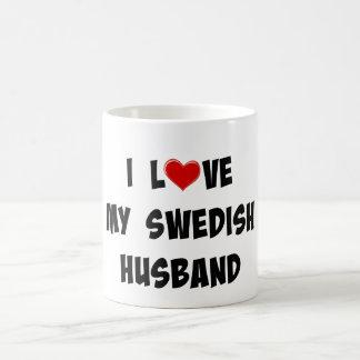 I Love My Swedish Husband Coffee Mug