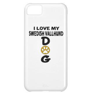I Love My Swedish Vallhund Dog Designs iPhone 5C Covers