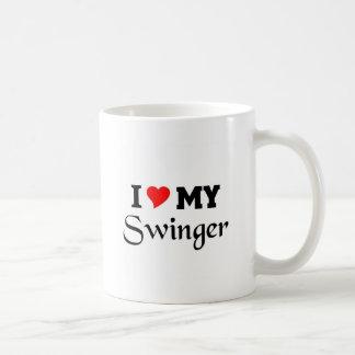 I love my Swinger Classic White Coffee Mug