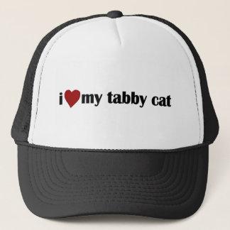 I Love My Tabby Cat Trucker Hat