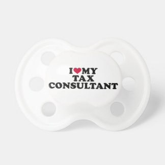 I love my tax consultant pacifiers