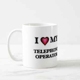 I love my Telephone Operator Coffee Mug