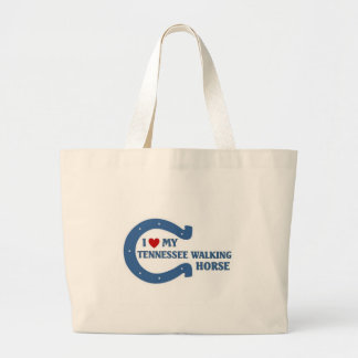 I love my Tennessee walking horse Large Tote Bag