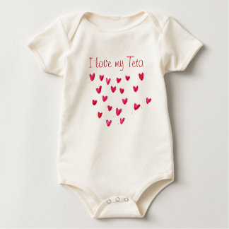 I love my Teta Baby Bodysuit