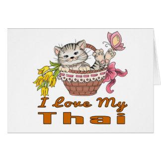 I Love My Thai Card