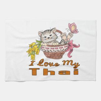 I Love My Thai Kitchen Towel