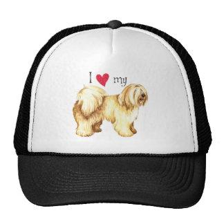 I Love my Tibetan Terrier Trucker Hat