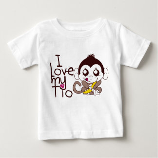 I love My Tio Baby T-Shirt