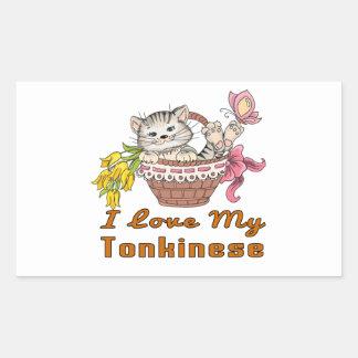 I Love My Tonkinese Sticker