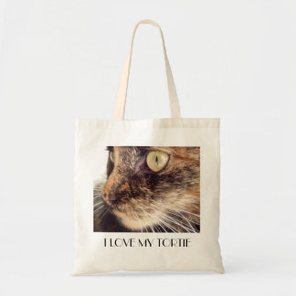 I love my tortie shopping bag