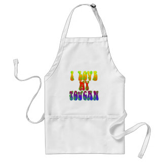 I Love My Toucan Standard Apron