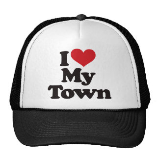 I Love My Town Hat