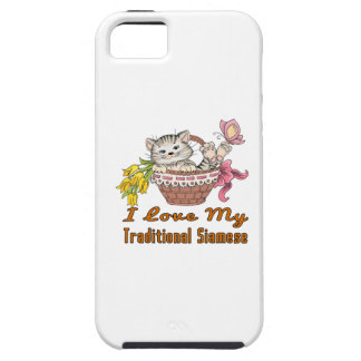 I Love My Traditional Siamese iPhone 5 Case