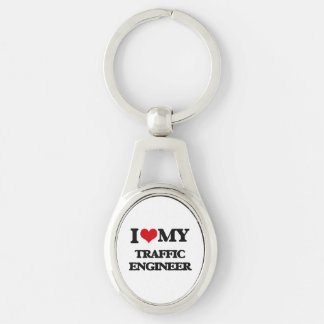 I love my Traffic Engineer Key Chains