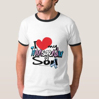 I Love My Transgender Son T-Shirt