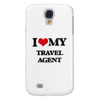 I love my Travel Agent Galaxy S4 Cases