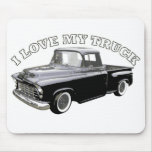 I Love My Truck Mouse Pad