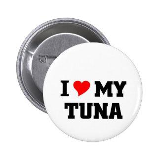 I love my Tuna 2 Inch Round Button