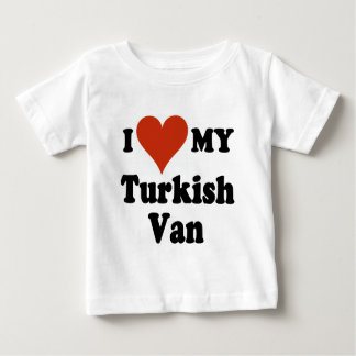 I Love My Turkish Van Cat Baby T-Shirt