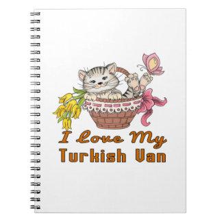 I Love My Turkish Van Notebook