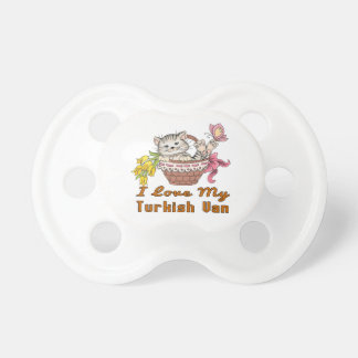 I Love My Turkish Van Pacifier