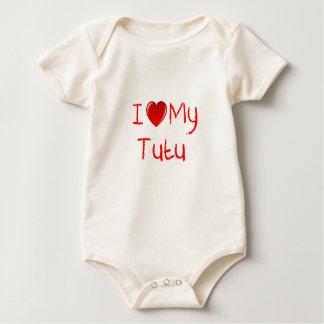 I Love My Tutu Infant Toddler T-Shirt