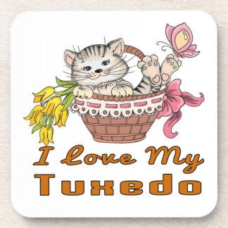 I Love My Tuxedo Coaster