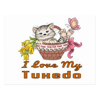 I Love My Tuxedo Postcard