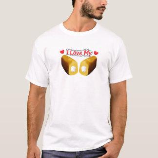 I Love My Twinkies - White  T-Shirt