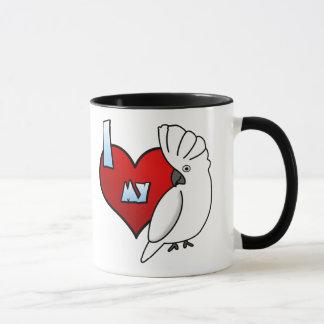 I Love my Umbrella Cockatoo Mug