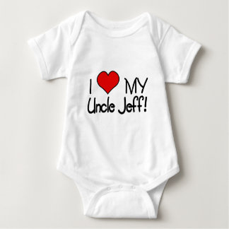 I Love My Uncle Jeff! Baby Bodysuit