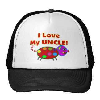 """I love my UNCLE T-Shirts/gifts Trucker Hat"