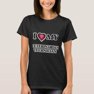 I love my Veterinarian Technician T-Shirt